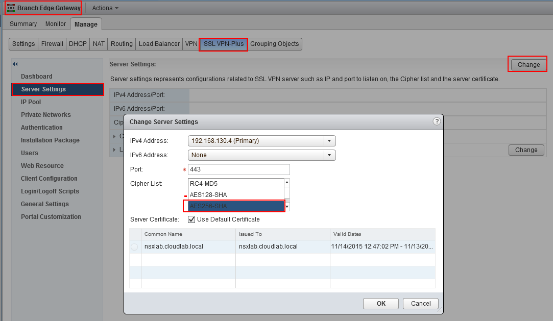NSX for Newbies – Part 13: SSL VPN-Plus | blog bertello org