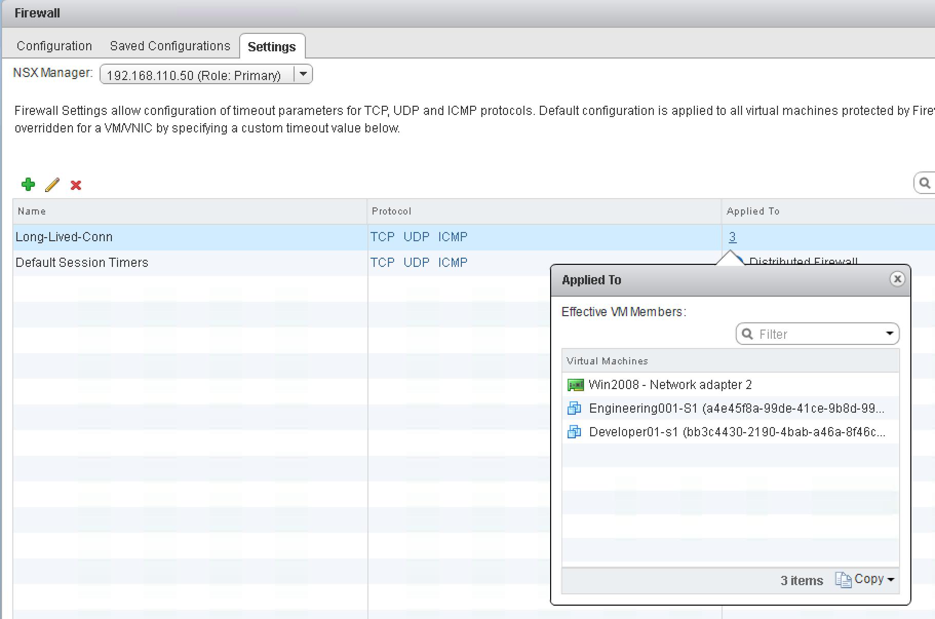 NSX 6 3: Configure Session Timers | blog bertello org